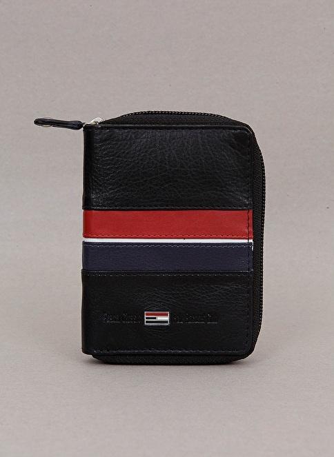 Polo Racouet Club %100 Deri Kartlık Siyah